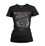 Bon Jovi T-shirt Slippery When Wet Album