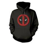 Marvel Deadpool Sweatshirt Cracked Logo