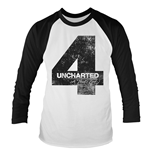 Uncharted 4 T-shirt Distressed