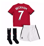 2017-18 Man United Home Mini Kit (Beckham 7)