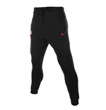 2017-2018 Atletico Madrid Nike Core Fleece Cuff Pants (Black)