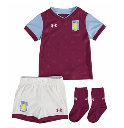 sports shoes 0ee5c c2f4b 2017-2018 Aston Villa Home Baby Kit