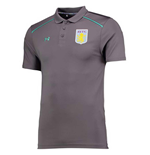 2017-2018 Aston Villa Core Team Polo Shirt (Graphite)