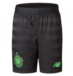 2017-2018 Celtic Third Shorts (Black) - Kids