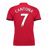 2017-2018 Man United Home Shirt (Cantona 7) - Kids