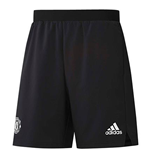 2017-2018 Man Utd Adidas UCL Training Shorts (Black)