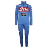 2017-2018 Napoli Sports Training Tracksuit (Blue)