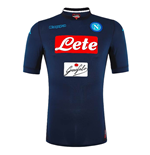 2017-2018 Napoli Kappa Authentic Third Shirt