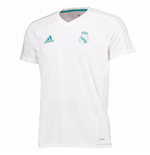 2017-2018 Real Madrid Adidas Training Shirt (White) - Kids