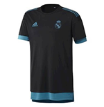 2017-2018 Real Madrid Adidas EU Training Shirt (Black)