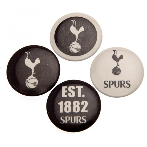 Tottenham Hotspurs F.C. Button Badge Set