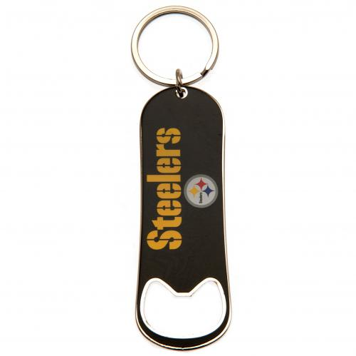 Pittsburgh Stelers Bottle Opener Keychain