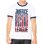 Justice League Movie - Strips - Unisex T-shirt White