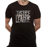 Justice League Movie - Logo - Unisex T-shirt Black