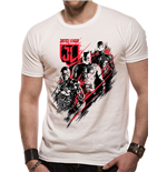Justice League Movie - Distortion - Unisex T-shirt White