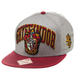 HARRY POTTER Gryffindor House Crest Snapback Baseball Cap, One Size, Multi-colour
