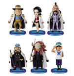 One Piece WCF ChiBi Figures 4 cm Assortment Navy Army II (25)