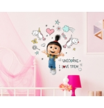 Despicable me - Minions Wall Stickers 274463