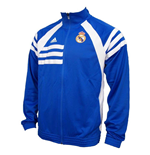 2016-2017 Real Madrid Adidas Track Jacket (Airforce Blue)