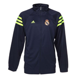 2016-2017 Real Madrid Adidas Track Jacket (Navy)