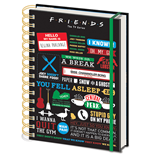 Friends A5 Notepad (Infographic)
