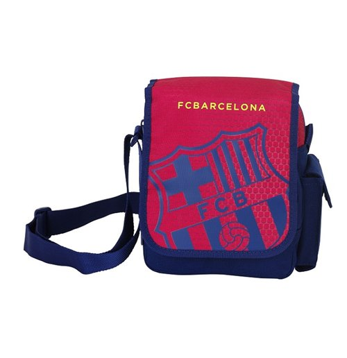 Barcelona FC shoulder bag 17 Red