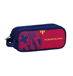 Barcelona FC pencil case triple Red