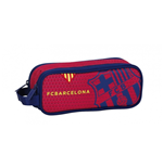 Barcelona FC pencil case double Red