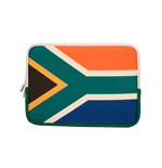 URBAN FACTORY Neoprene Flag Laptop Sleeve for 11.6 to 12 Inch Devices, South Africa Flag