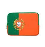 URBAN FACTORY Neoprene Flag Laptop Sleeve for 11.6 to 12 Inch Devices, Portugal Flag