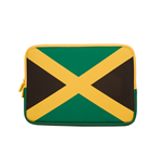 URBAN FACTORY Neoprene Flag Laptop Sleeve for 11.6 to 12 Inch Devices, Jamaica flag