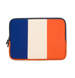 URBAN FACTORY Neoprene Flag Laptop Sleeve for 11.6 to 12 Inch Devices, France Flag