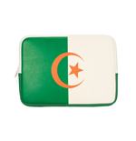 URBAN FACTORY Neoprene Flag Laptop Sleeve for 11.6 to 12 Inch Devices, Algeria Flag