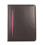 URBAN FACTORY Luxury Universal Imitation Leather Sleeve with Stand for up to 10.1 Inch Tablet Device, Pink/Black