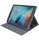 URBAN FACTORY iPad Pro Imitation Leather Folio with Stand for 12.9 Inch Device, Black