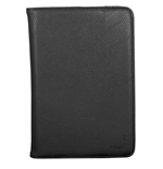 URBAN FACTORY Infinite Universal Rotative Imitation Leather Folio with Stand for 6 to 8 Inch Tablet Devices, Black