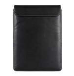 URBAN FACTORY Genuine Leather Laptop Sleeve for Apple MacBook Air 13.3 Inch, Black