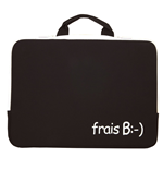 URBAN FACTORY frais B Laptop Sleeve for up to 15.6 Inch Devices, White