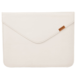 URBAN FACTORY Envelope Imitation Leather Protective Sleeve for Apple iPad, White