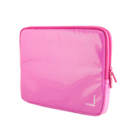 URBAN FACTORY Crazy Laptop Vinyl Sleeve for 16 Inch Devices, Fuschia Pink