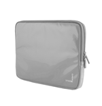 URBAN FACTORY Crazy Laptop Vinyl Sleeve for 13.3 Inch Devices, Grey