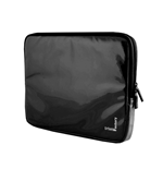 URBAN FACTORY Crazy Laptop Vinyl Sleeve for 13.3 Inch Devices, Black