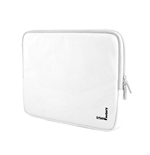 URBAN FACTORY Crazy Laptop Vinyl Sleeve for 12 Inch Devices, White