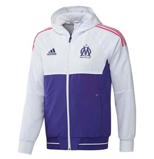 erupción tarde Maquinilla de afeitar  Buy Official 2017-2018 Marseille Adidas Presentation Jacket (White)