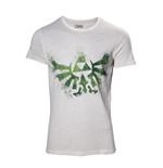 The Legend of Zelda T-shirt - Zelda Hyrule Nappy White