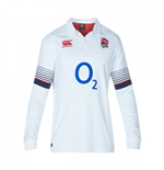 2017-2018 England Home Classic LS Rugby Shirt