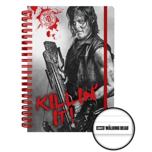 The Walking Dead Notebook Daryl