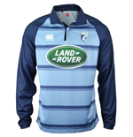 2017-2018 Cardiff Blues Home Classic LS Rugby Shirt