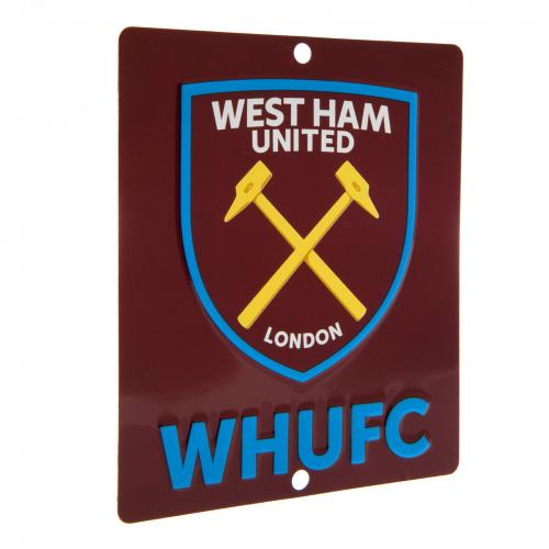 West Ham United F.C. Window Sign SQ