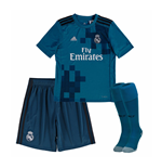 2017-2018 Real Madrid Adidas Third Full Kit (Kids)